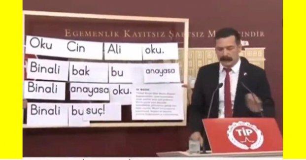 Erkan Baş: 'Oku Cin Ali oku, Binali bu suç'