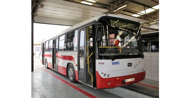ESHOT yıpranan otobüsleri tamir ve bakımla yeniliyor