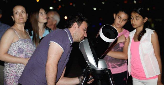 Fotoğraf ustalarına Astrofotoğrafçılık dersi