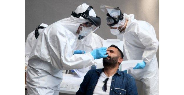 Göztepe'de futbolcular ve görevlilere Kovid-19 testi yapıldı