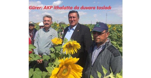 """Gürer: """"Yağdaki fahiş fiyat artışının sorumlusu iktidarın yanlış tarım politikalarıdır"""""""