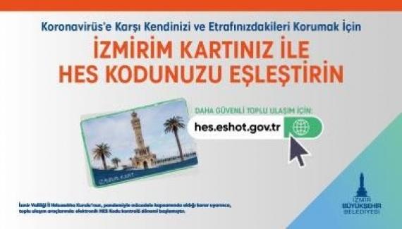 HES Kodu-İzmirim Kart eşleştirmesi için son hafta