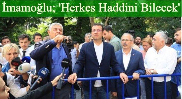 İBB Başkanı Ekrem İmamoğlu: 'Gözler İstanbul'a dönmüş falan'