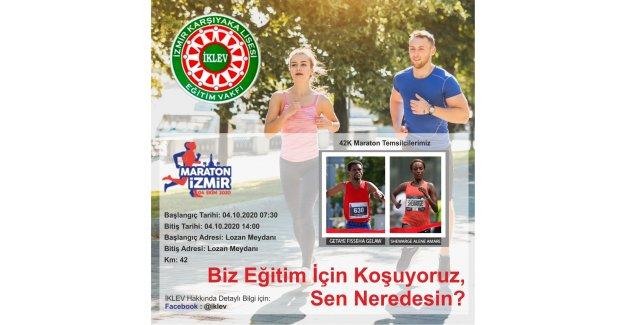 İKLEV İzmir Maratonunda eğitim için koşacak