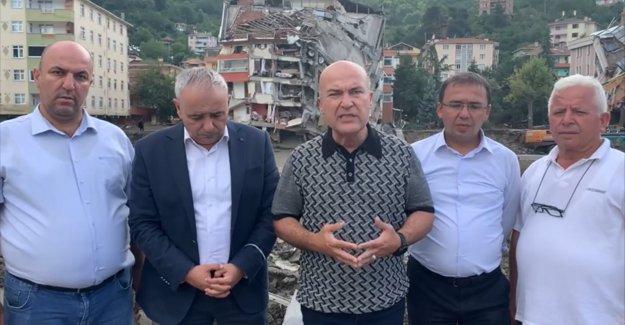 İklim Komisyonunun CHP'li üyeleri sel bölgesinde: 'Her şey bu felaketi doğurdu!'