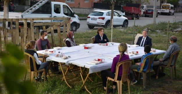 İlk iftar Pınarbaşı'nda