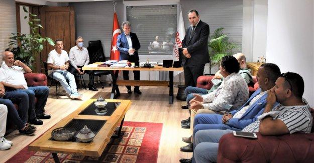 İzmir ASKF'den Başkan İduğ'a ziyaret
