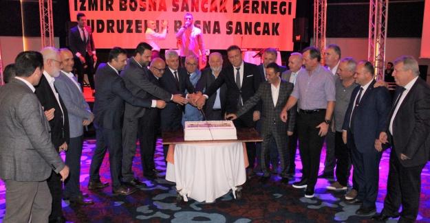 İzmir Bosna Sancak Derneği 24.Kuruluş Yılını Kuşadası'nda Kutladı
