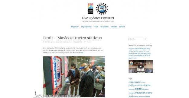 İzmir Büyükşehir Belediyesi uluslararası basında