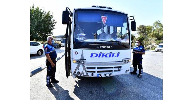 İzmir Büyükşehir Belediyesi'nden trafik kazalarına karşı denetim