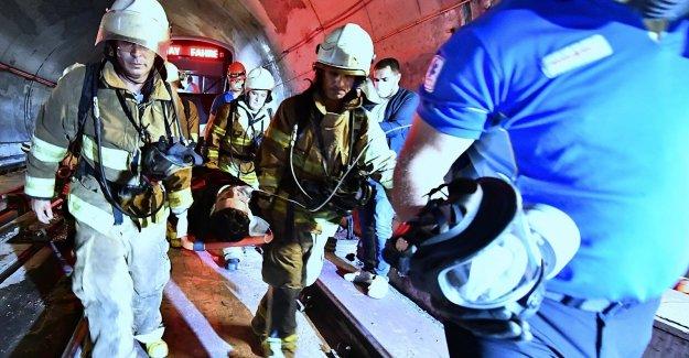 İzmir Metrosu'nda başarılı kurtarma operasyonu