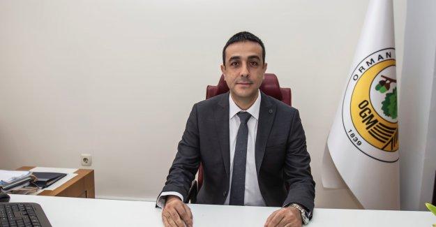 İzmir Orman İşletme Müdürü Ersen Çetin Göreve Başladı