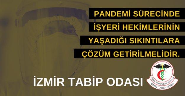 İzmir Tabip Odası'ndan yaşanan sorunlarla ilgili Rapor