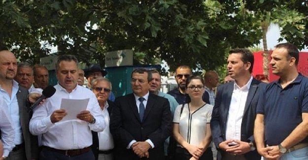 İzmir'de Balkan Göçmenleri ve Federasyonlarından AKP Başiskele Yöneticisi Özkaraaslan'a tepki