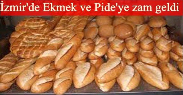 İzmir'de ekmek ve pide fiyatları belirlendi…