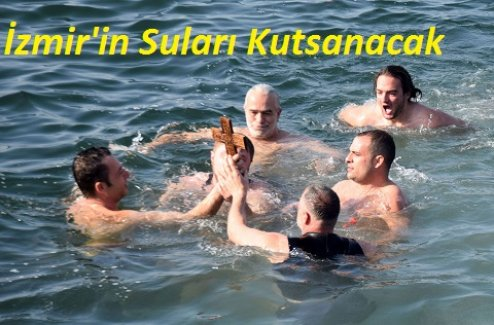 """İzmir'de yaşayan Ortodokslar """"Denize Haç Atma"""" Yortusu'nda buluşacaklar.."""