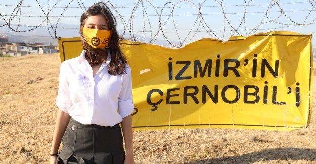 İzmir'in Çernobili'ni yazdı dünya birincisi oldu