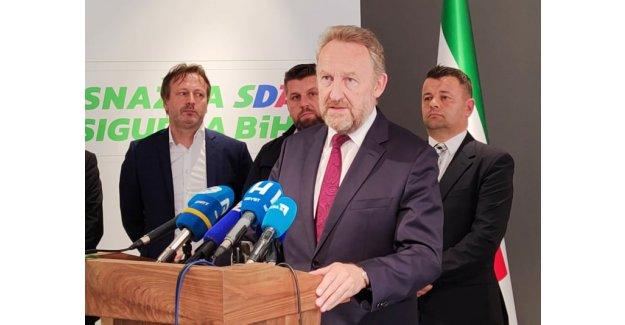 İzzetbegoviç SC temsilcileriyle görüşmesinin ardından: Seçimlere birlikte giriyoruz!
