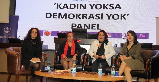"""""""Kadın Yoksa Demokrasi Yok"""""""