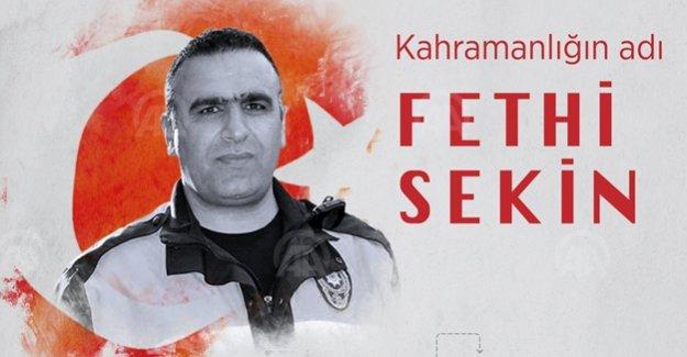 Kahramanlığın adı Fethi Sekin