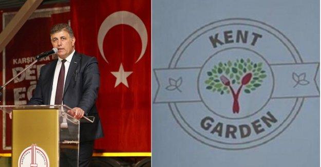 """Karşıyaka Belediyesi; """"Bahsi geçen tabela kaldırılmıştır"""""""