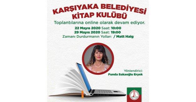Karşıyaka Belediyesi Kitap Kulübü'nden 'online' buluşmalar