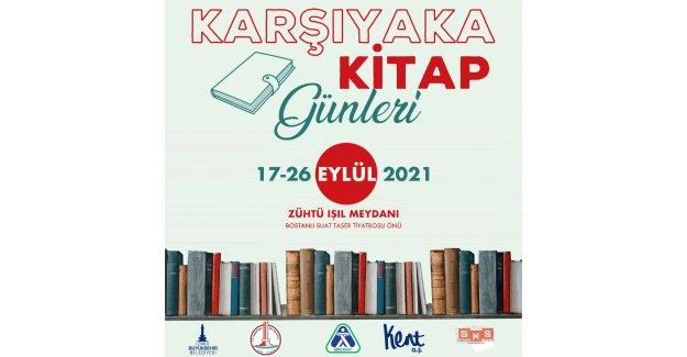 Karşıyaka Kitap Günleri için Geri Sayım Başladı