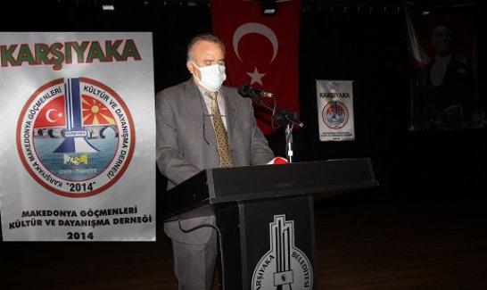 Karşıyaka Makedonya Göçmenleri Kültür ve Dayanışma Derneği'nde Akyürek Güven Tazeledi