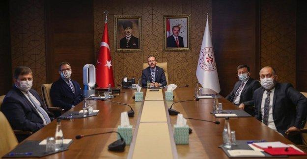 Karşıyaka Stadı için Ankara'da önemli zirve