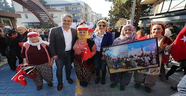 Karşıyaka'da '8 Mart' buluşması
