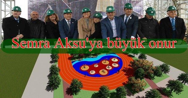 Karşıyaka'da dev spor parkının temeli atıldı