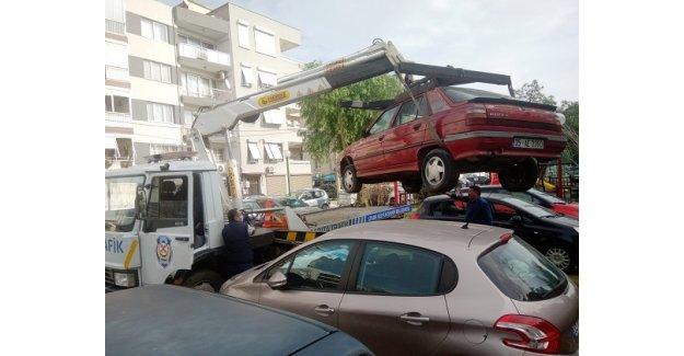 Karşıyaka'da hurda araçlara geçit yok