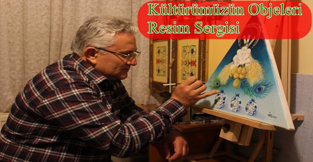 KARŞIYAKALI RESSAM ÇAKICI'DAN 4'NCÜ SERGİ