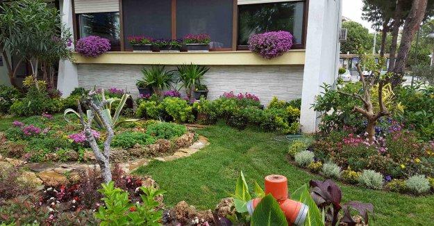 Karşıyaka'nın en güzel balkon ve bahçeleri