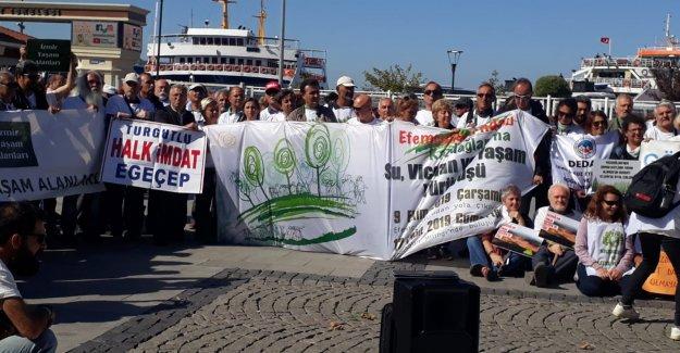 KAZ DAĞLARI EKOLOJİK TAHRİBATIN SEMBOLÜ OLDU'