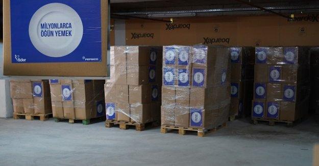 Kent A.Ş. ve TİDER iş birliği ile 3 bin koli yardım dağıtılacak