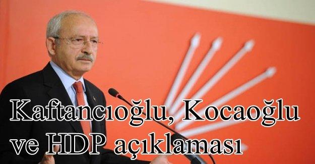Kılıçdaroğlu: CHP'de kaos yok, özgür tartışma var