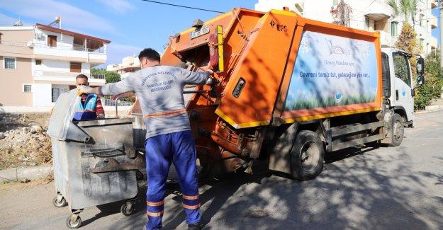 Kısıtlamalarda Menderes'te Hummalı Çalışma