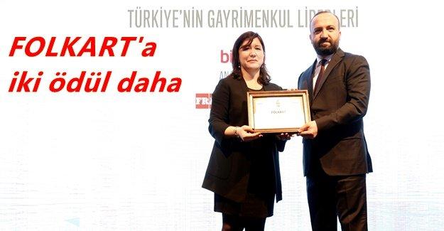 KONUT ÜRETİMİNDE VE SATIŞINDA FOLKART'A ÖDÜL