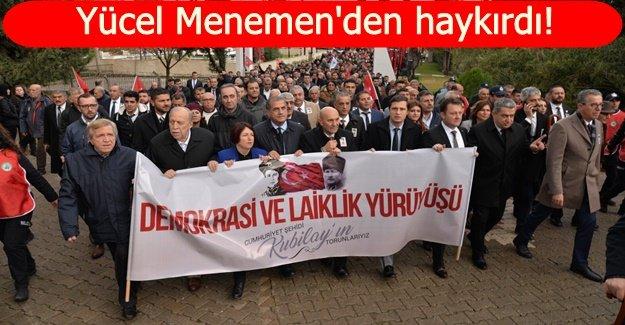 """""""KUBİLAY GERİCİLİK VE YOBAZLIKLA SAVAŞIN SİMGESİDİR"""""""