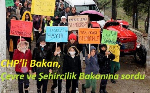 'KUŞ SESLERİNİN YERİNİ DİNAMİT SESLERİ ALMASIN'