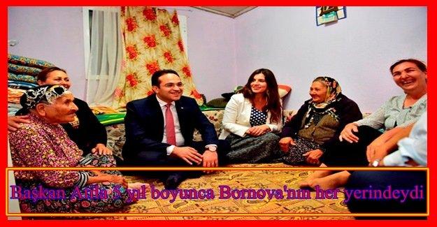 Mahalle buluşmaları Bornova'da  2014 yılından bu yana aralıksız sürdü