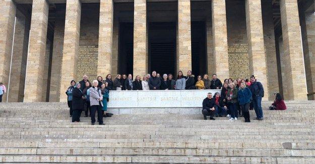 Makedonya Göçmenlerinden Anıtkabir'e Ziyaret