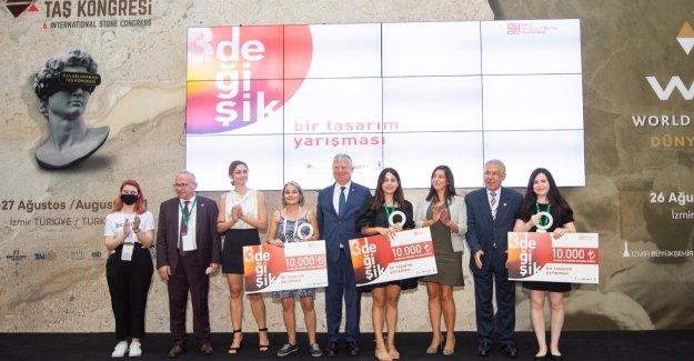 Marble İzmir'de genç tasarımcılar ödüllendirildi