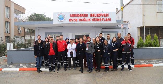 Menderes'te Evde Sağlık Hizmetleri Yeni Yerinde