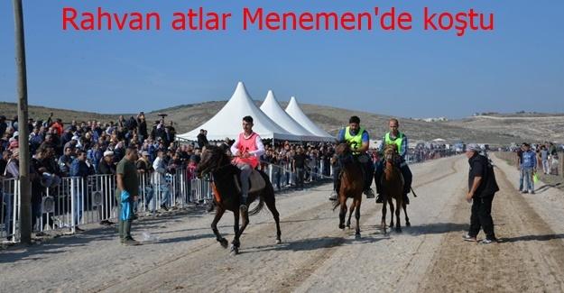 Menemen 7. Rahvan At Yarışları yapıldı