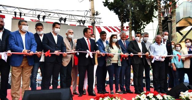 Menemen'de Kasımpaşa Üst Geçidi açıldı