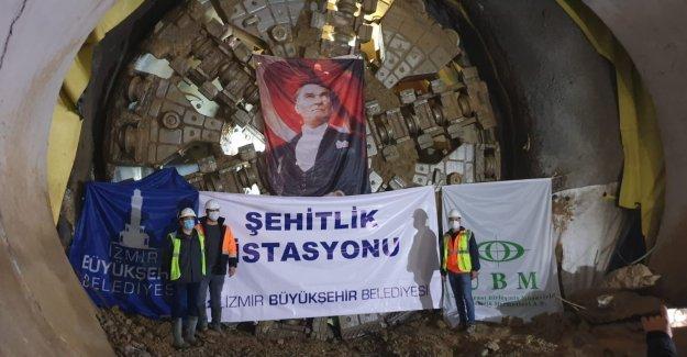 Metro tüneli Şehitlik İstasyonu ile buluştu
