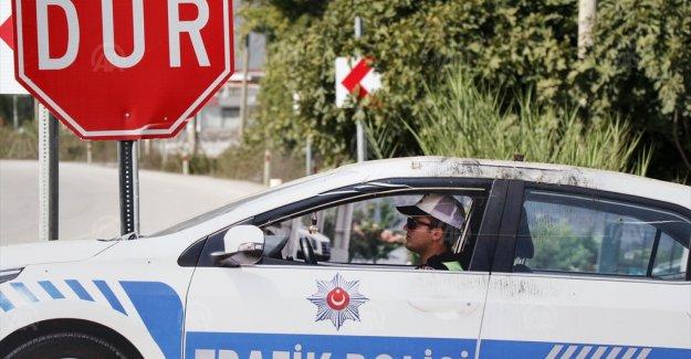 Muğla'da maket trafik aracının tepe lambası ve aküsü çalındı