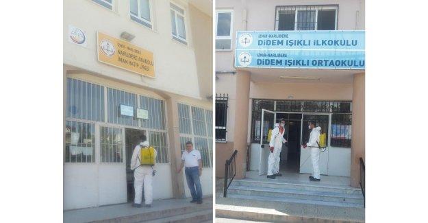 Narlıdere'nin okulları LGS'ye hazır